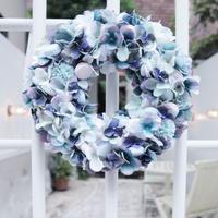 マカロンリース®️紫陽花