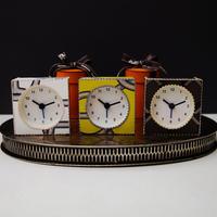 HERMESの壁紙で作る時計キット