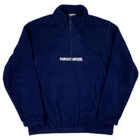 """SIMPLE LOGO"" HALFZIP FLEECE (Navy)"