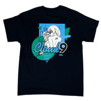 """CLOUD9"" S/S TEE ( Black )【半袖】"