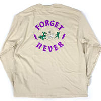ANIMAL CYPHER - LONG SLEEVE TEE【BEIGE/PURPLE】