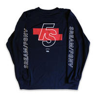 "FORGET NEVER x S.R.E.A.M. ""FS"" LIMITED DRY LONG SLEEVE (NAVY)"