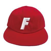 """F"" Logo Ball Cap ( Red )"