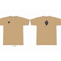支援Tシャツ 八戸FORMEロゴ 3000円 サンド 数量限定