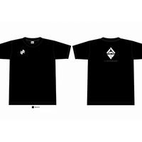 支援Tシャツ 八戸FORMEロゴ 3000円 ブラック  数量限定