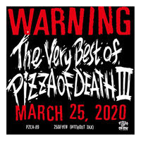V.A / The Very Best Of PIZZA OF DEATH III / CD