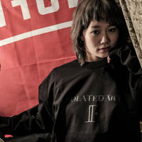"iSOALATED ARTS Official Long Sleeve T-shirts""Double""(Black)"