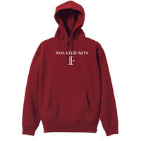 iSOLATED ARTS CLASSIC HOODIE(Burgundy)
