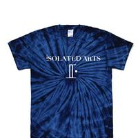 iSOLATED ARTS TieDyed T-Shirts(Navy)