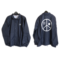iSOLATED ARTS COACH JACKET(Navy)