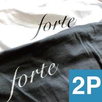forte 2Pack T-shirts(Denim&White)