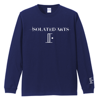 iSOLATED ARTS-Standard Long Sleeve Tshirts(Navy)