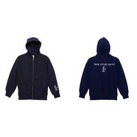 iSOLATED ARTS 12oz Heavy Weight Zip Hoodie(Navy)