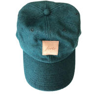 forte Official Wool&Suède Tag Cap(Green)
