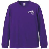 "forte""Roses""L/S T-Shirts(Purple)"