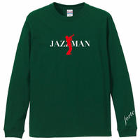 "forte""JAZZMAN""Long T-shirts(Green)"
