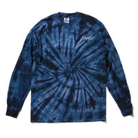 forte Official tie-dye Long Sleeve T-Shirts(Spider Navy)