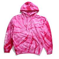 forte tie-dye Hoodie(Pink)
