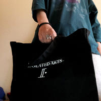 2WAY Heavy Canvas Tote Bag(Black)