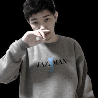 "forte""JAZZMAN""Crewneck Sweat(Gray-2)"