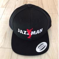 "forte""JAZZMAN""5panel-Snapback Cap(Black)"