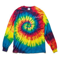 forte Official tie-dye Long Sleeve T-Shirts(Rainbow)