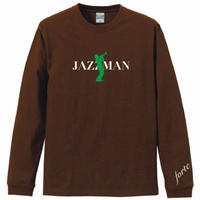 "forte""JAZZMAN""Long T-shirts(Brown)"