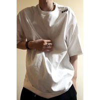 "forte""Sale""Big Silhouette T-shirts(White)"