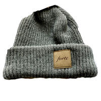 19 Summer forte Official suède Tag Knit(Light Gray)