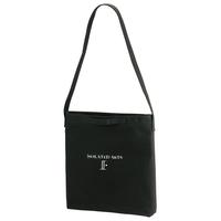 2WAY Heavy Canvas Shoulder Bag(Black)