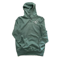forte×Alice Korotaeva 2nd Collection  Organic Cotton Hoodie(Sage Green)