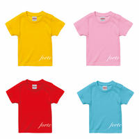 【NEW】forte mini logo Kids T-Shirts(4color)