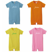 forte baby rompers(4colors)80サイズ