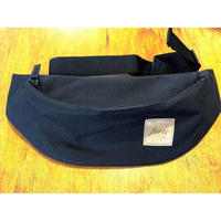 forte suède tag BELT BAG(Black)