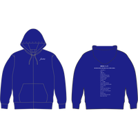 ONEMAN SET LIST Full Zip Hoodie(Navy)