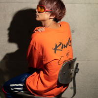 """King""T-shirts (Orange) - General Price"