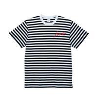 forte French Border T-shirts(White/Black)
