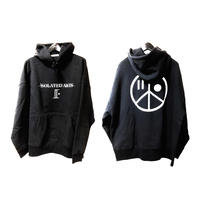 【再入荷】iSOLATED ARTS OFFICIAL Big Silhouette Hoodie(Black)