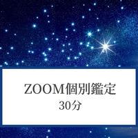 「Zoom個別鑑定」 30分