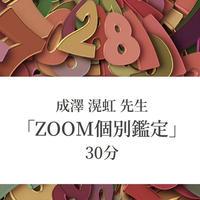 成澤 滉虹 先生 「Zoom個別鑑定」 30分