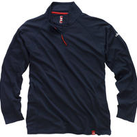 UV003 Men's UV Tec Zip Neck Long Sleeve