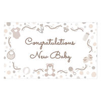 【メッセージカード Congratulations on your baby】