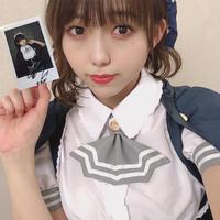 【澤田桃佳】2021年チェキ第3弾!純情のアフィリア制服ver