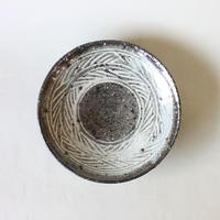八田亨:三島手5寸皿(1)