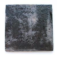今西公彦:鉄釉四方皿(B1)