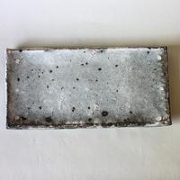 八田亨:白掛板皿(1)
