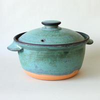 中尾雅昭:3合土鍋 青銅