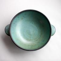 中尾雅昭:耐熱ボウル 青銅 195mm