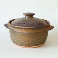 中尾雅昭:1.5合土鍋 茶