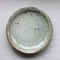 八田亨:白掛 リム皿L(2)